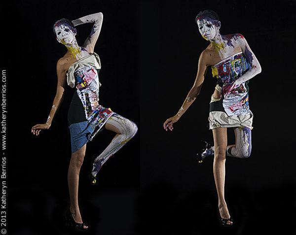 Diseño de moda y arte filosofía de creación