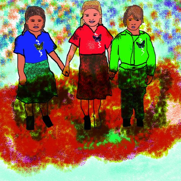 Illustrationfriday- Childhood