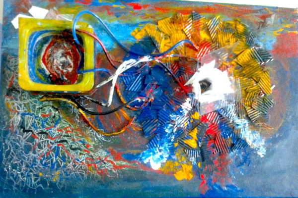 Obra de arte. 3d sculpture