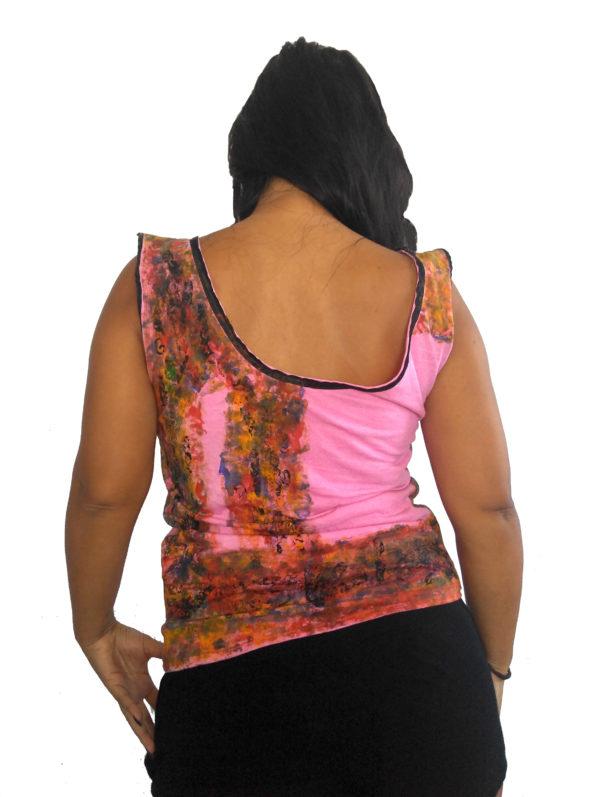T-shirt Cascada de Color III