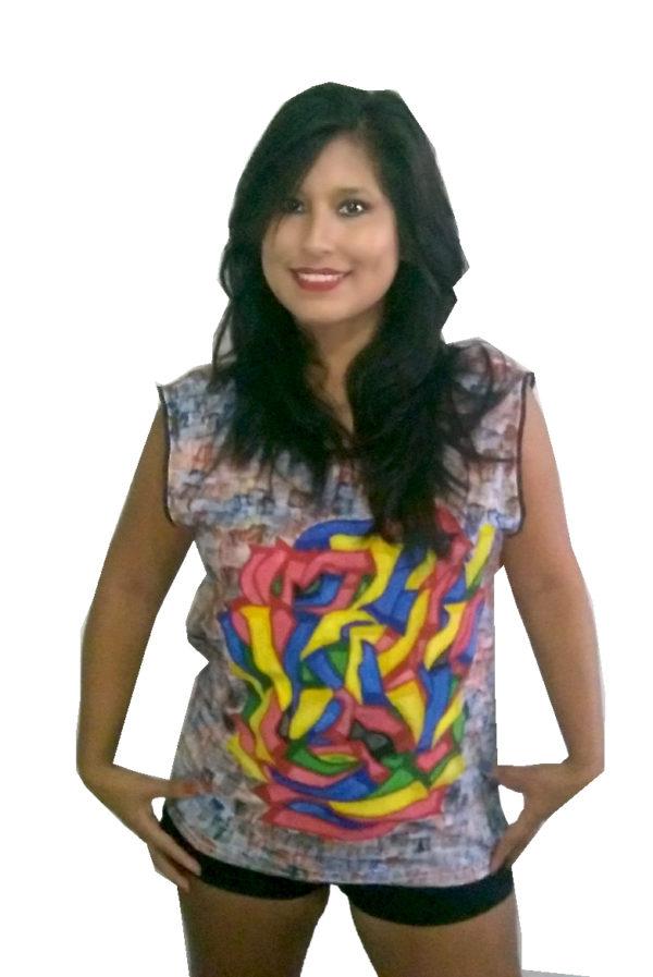 T-shirt Grafiti Tribal II