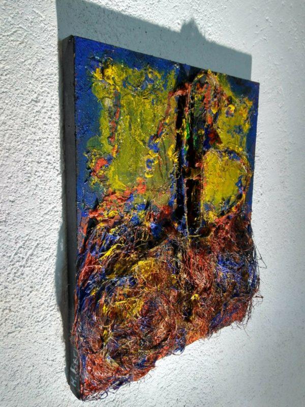 Modern Art. 3d Sculpture. Remolinos-Sendero.